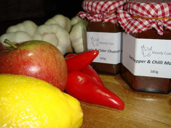 The Moody Cow: Homemade Moody Cow Chutney's