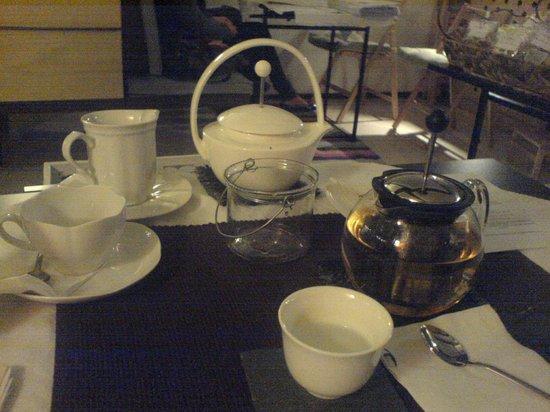 Camelliae Tea Room : servizio