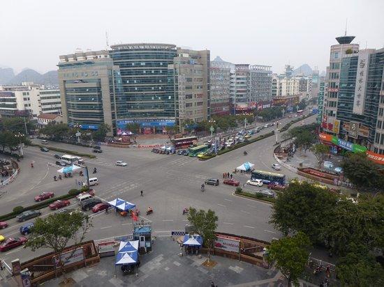 Guilin Jinpu Hotel: vista desde la habitacion