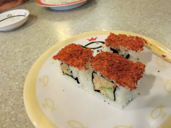 Sushi King @ Sooka : Need I said more ! Spicy tuna roll are wrap in cook can tuna with chilli power on top