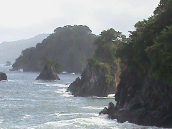 Paria Falls : Coastal views from Blanchisseuse