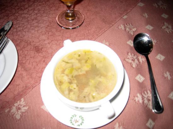 Alpine Hotel: soupe