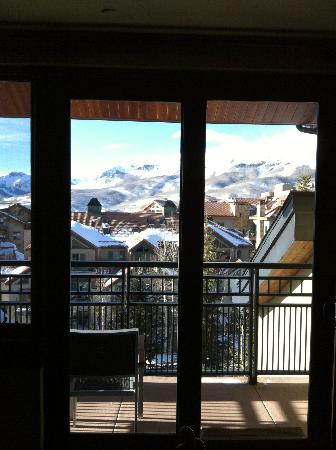 Lumiere Telluride: the view from our kitchen and living room