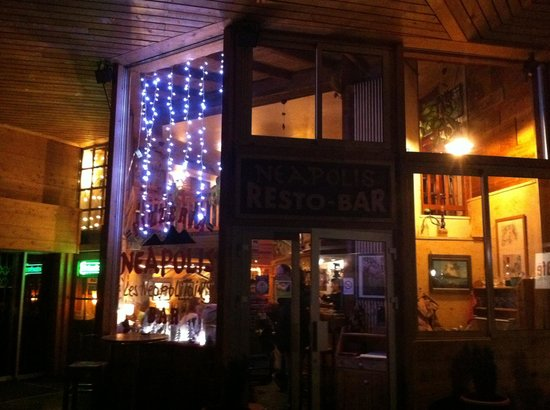Neapolis : The outside of the restaurant
