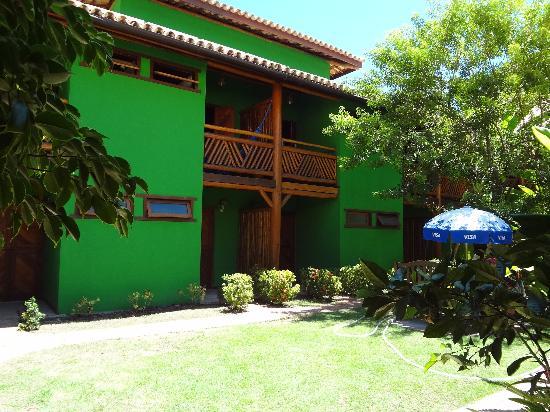 Pousada Casa De Praia: jardim central