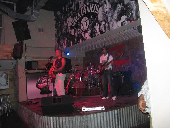Banana Beach Club: Sala concerti