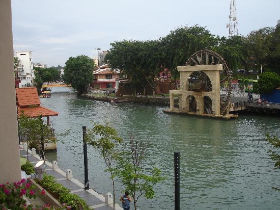 Casa del Rio Melaka: view from our balcony