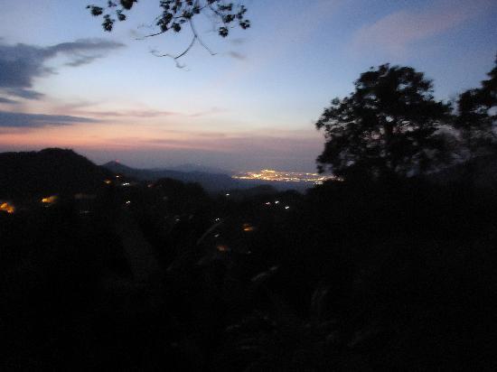 Casa Loma Minca: View of Santa Marta from room...