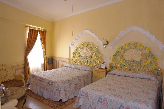 Villa Las Margaritas Caxa: Habitación