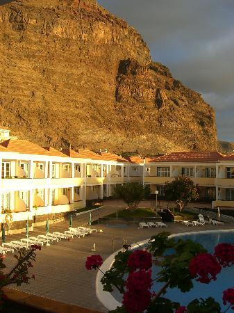 Laurisilva Apartments: Abendblick vom Balkon