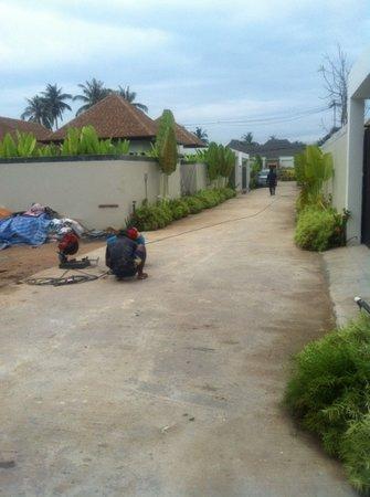 Villa Suksan: chantier