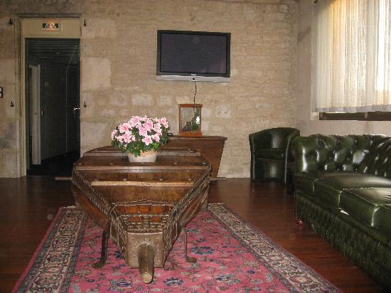 Hotel Le Lion d'Or : salon gramat