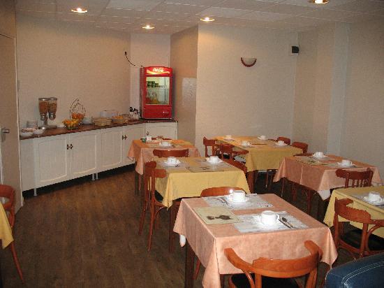 Aragon Hotel : salle petit déjeuner