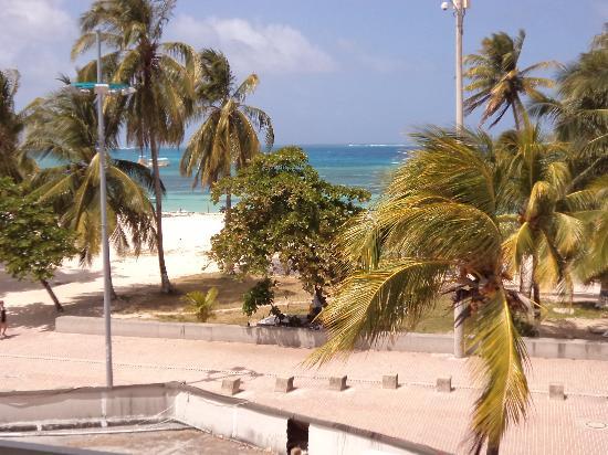 Hotel El Dorado : vista del balcón.