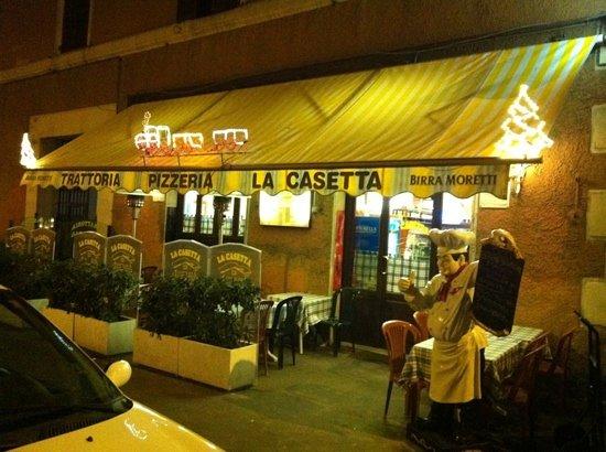 pizzeria trattoria cucina romana tavoli all\'aperto chiuso la ...