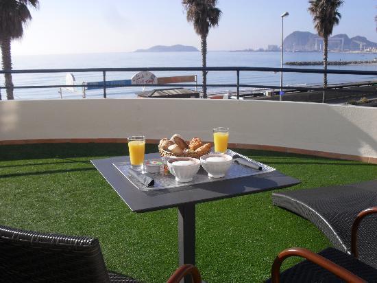 Hotel Rose Thé : terrasse