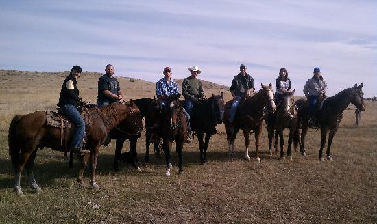 Bitter Creek Outfitters: Out for a ride...