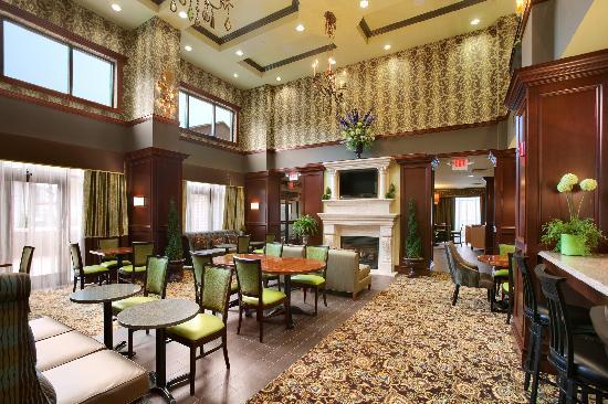 Hampton Inn & Suites Hartford/Farmington: Breakfast Lounge