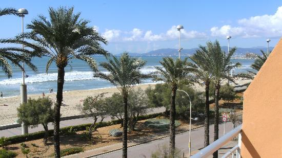 HSM Golden Playa: Ausblick vom Balkon