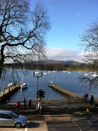 Waterhead Hotel: view from the room