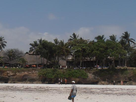 Baobab Beach Resort & Spa: view from the beach