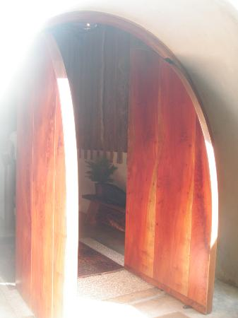 Poas Volcano Lodge: un poteau original