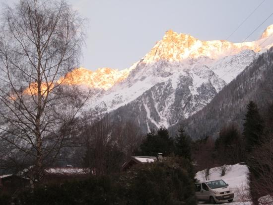 view from Chalet Shiraz
