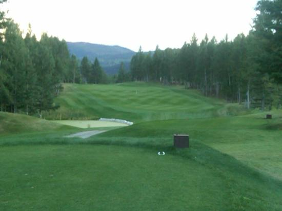 Radium Hot Springs, Canada: Hole #4