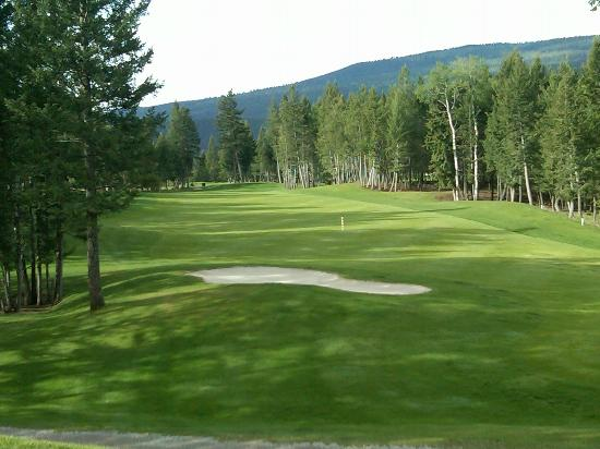 Radium Hot Springs, Canada: Hole #5
