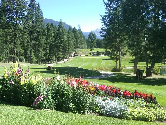 Radium Hot Springs, Canada: Hole #2