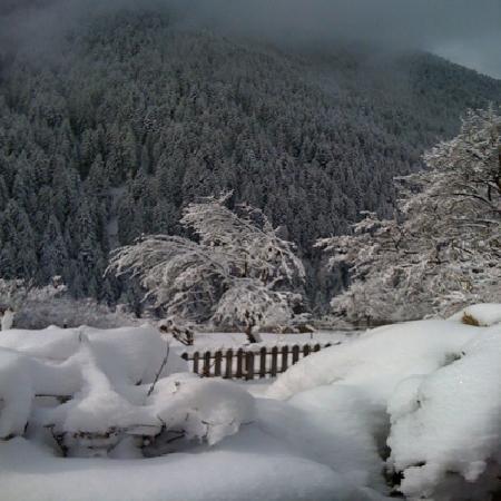 Hotel Stella Stern: veduta con la neve
