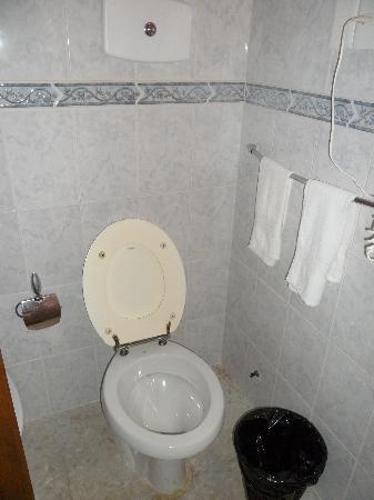 Hotel Peninsula: baño