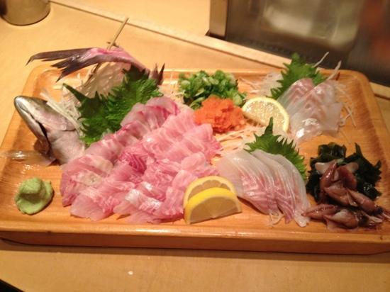 Fuji Sushi Restaurant: ISAKI&SUZUKI SASHIMI