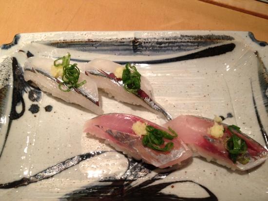 Fuji Sushi Restaurant: SAYORI&AJI NIGIRI