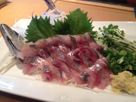 Fuji Sushi Restaurant: AJI SASHIMI