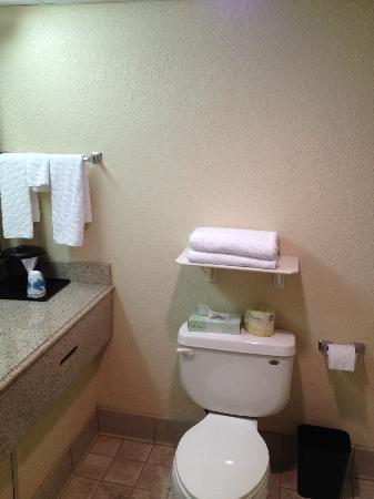 La Quinta Inn & Suites Fairfield: Bathroom