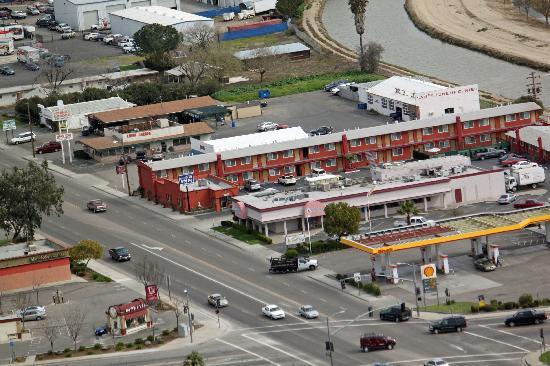 Sun Star Inn: Aerial View