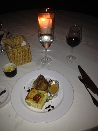 Hotel L'Auberge: dinner