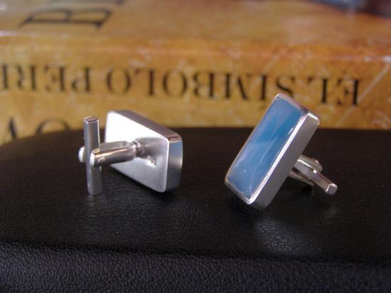 Premium Jewellers: larimar cufflinks
