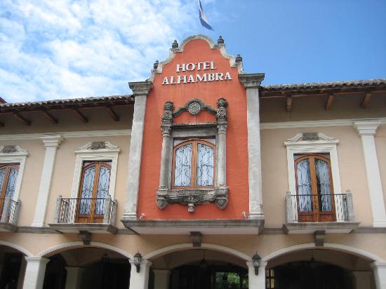 Hotel Alhambra: exterior, facing the park