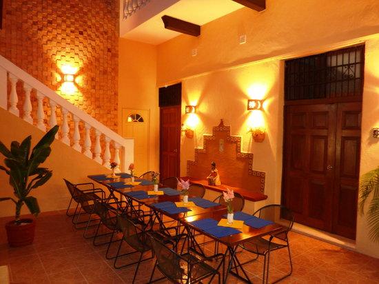 Hotel del Peregrino: Dining Area