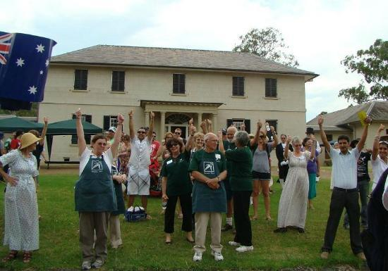 Wonderful Australia Day Event at Old Government House