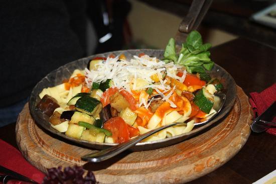 Strate's Brauhaus: Gemüsepfanne