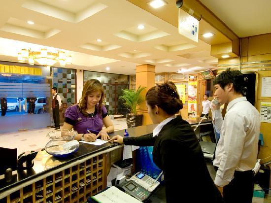 Mito Hotel: Reception