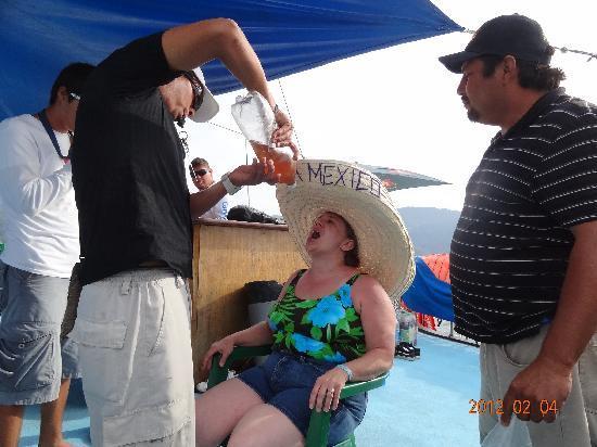 Hacienda Buenaventura Hotel & Mexican Charm All Inclusive: taquila poppers!