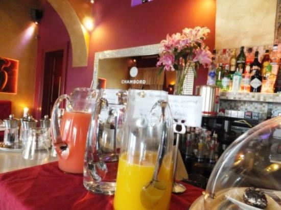 Design Hotel Jewel Prague: freshly squeezed juices