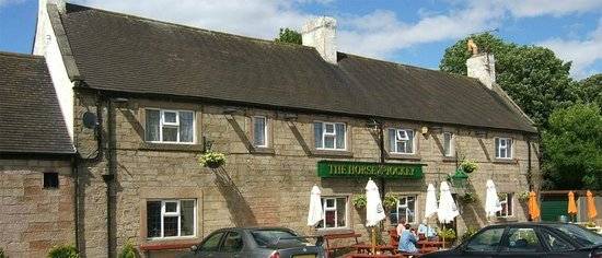 Alfreton, UK: Horse & Jockey Wessington Derbyshire