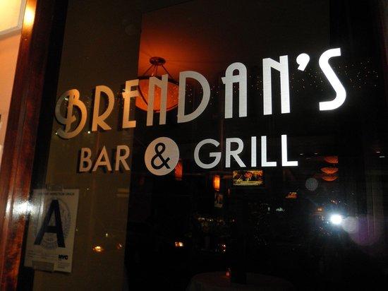 Brendan's Bar & Grill: Sign