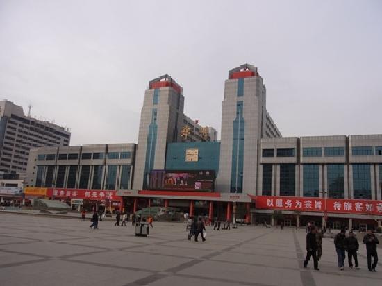 Jinjiang Inn (Zhengzhou Railway Station): 駅から直ぐの場所