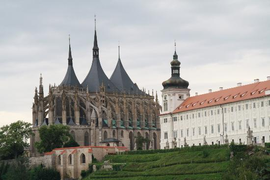 St Barbara's Cathedral: From the outside